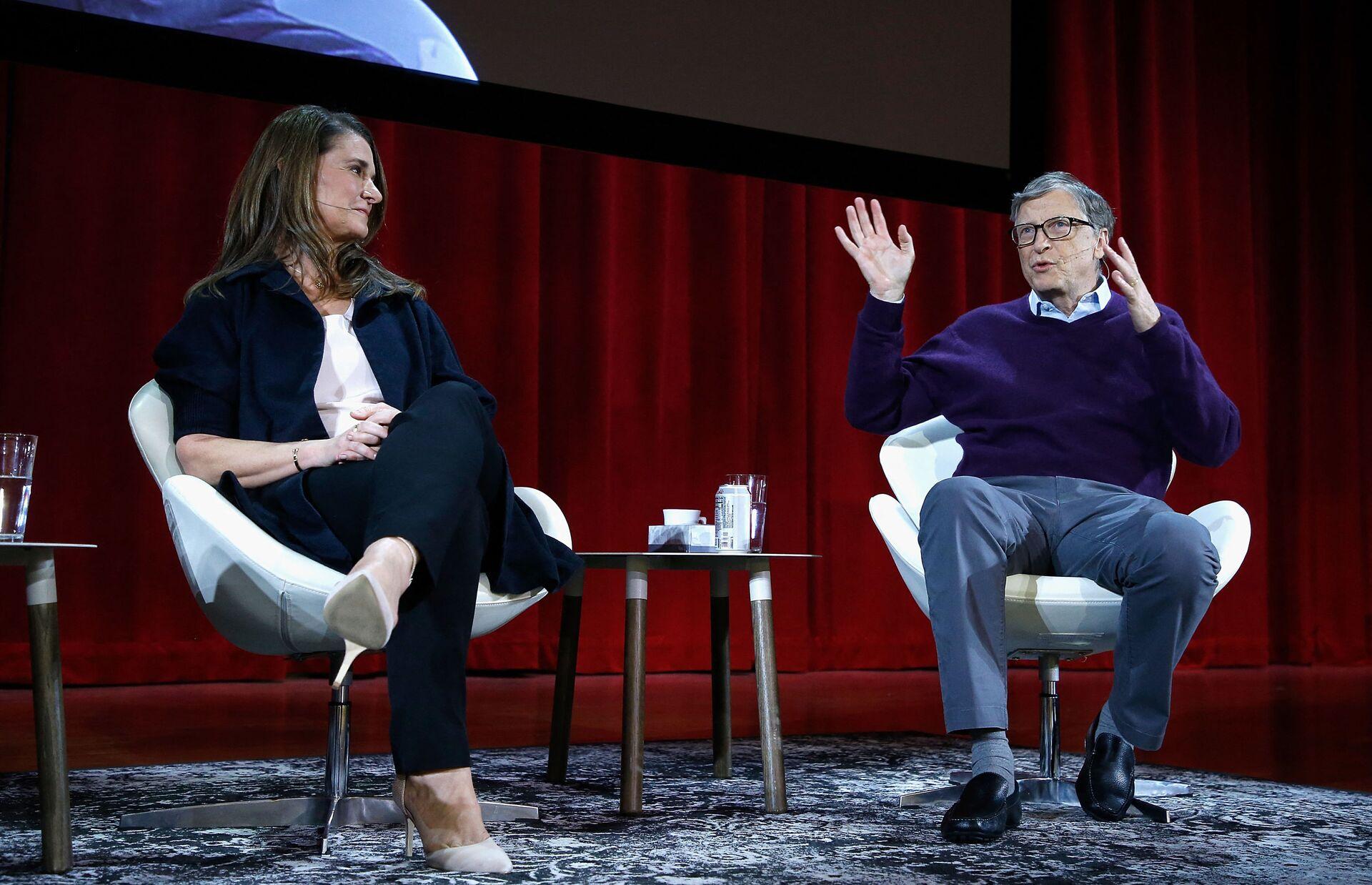 Bill e Melinda Gates partecipano ad una conferenza a New York - Sputnik Italia, 1920, 18.05.2021