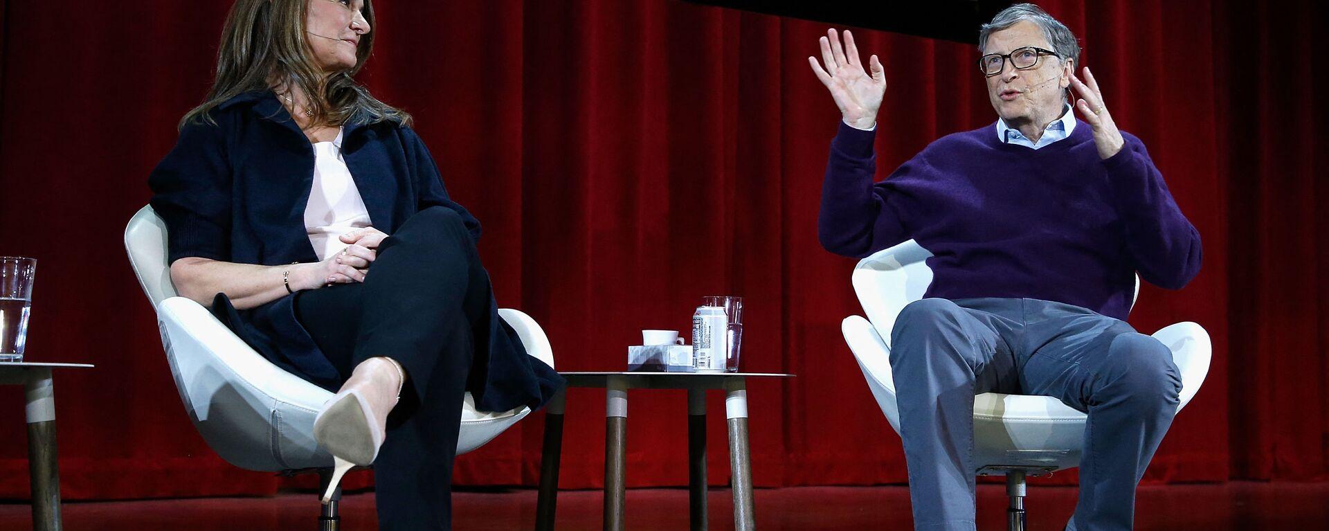 Bill e Melinda Gates partecipano ad una conferenza a New York - Sputnik Italia, 1920, 10.08.2021