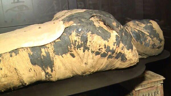 Mummia egiziana incinta - Sputnik Italia
