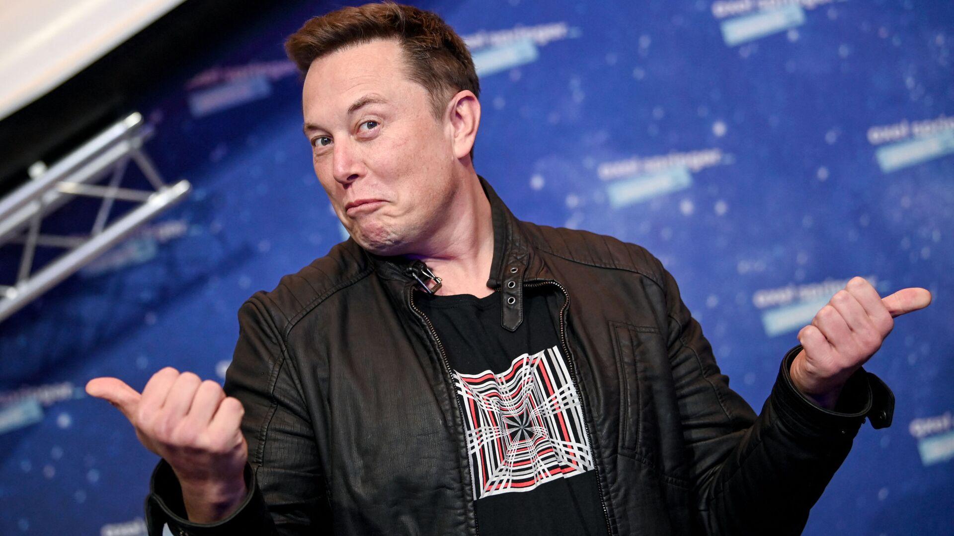 Elon Musk - Sputnik Italia, 1920, 22.05.2021