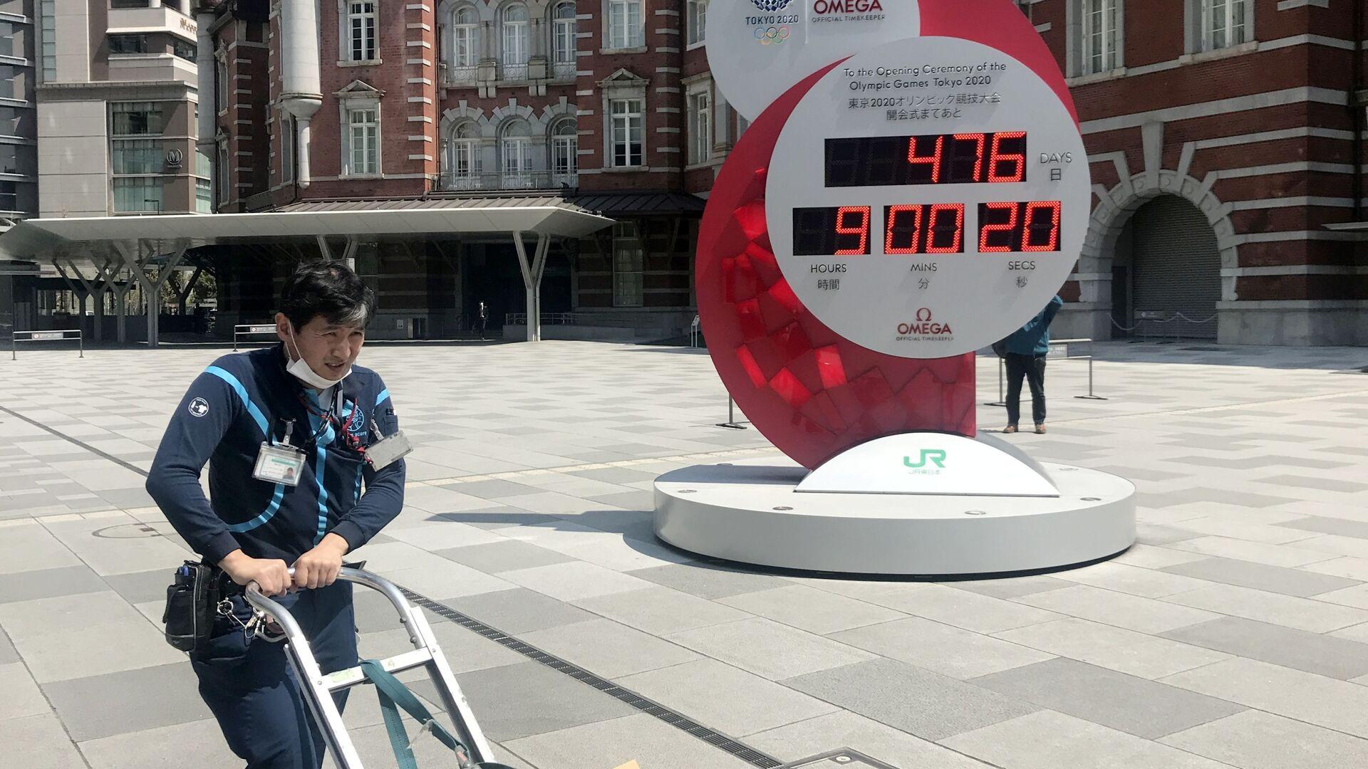 Olimpiadi di Tokyo 2021, il conto alla rovescia continua - Sputnik Italia, 1920, 02.07.2021