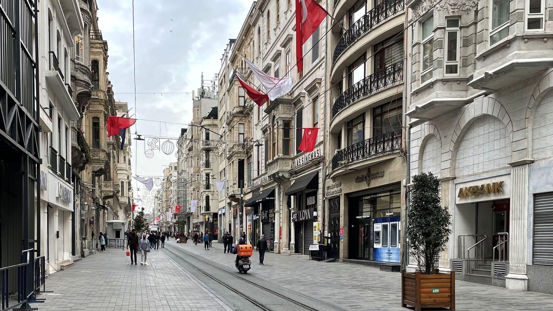 Istiklal, la via centrale di Istanbul - Sputnik Italia, 1920, 03.06.2021