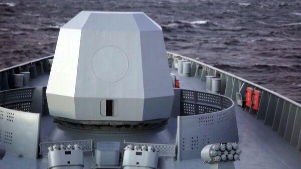 La nave Ammiraglio Gorshkov usata per i test del missile Zirkon - Sputnik Italia