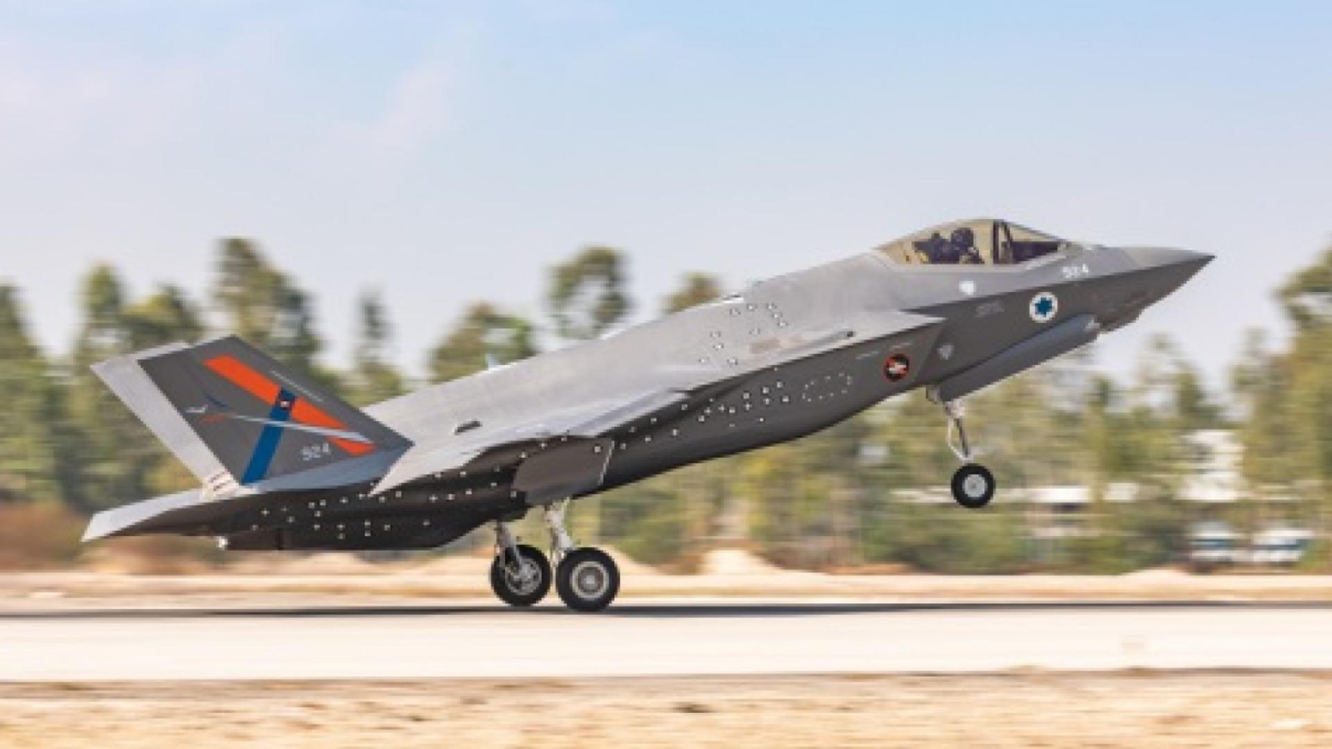 Il primo velivolo di prova F-35I Adir al di fuori degli Stati Uniti presso il Centro israeliano di prove di volo AF a Tel-Nof AFB l'11 novembre 2020. Verrà utilizzato per sviluppare e testare capacità avanzate che solo Israele può aggiungere la sua flotta di caccia F-35I. - Sputnik Italia, 1920, 19.05.2021