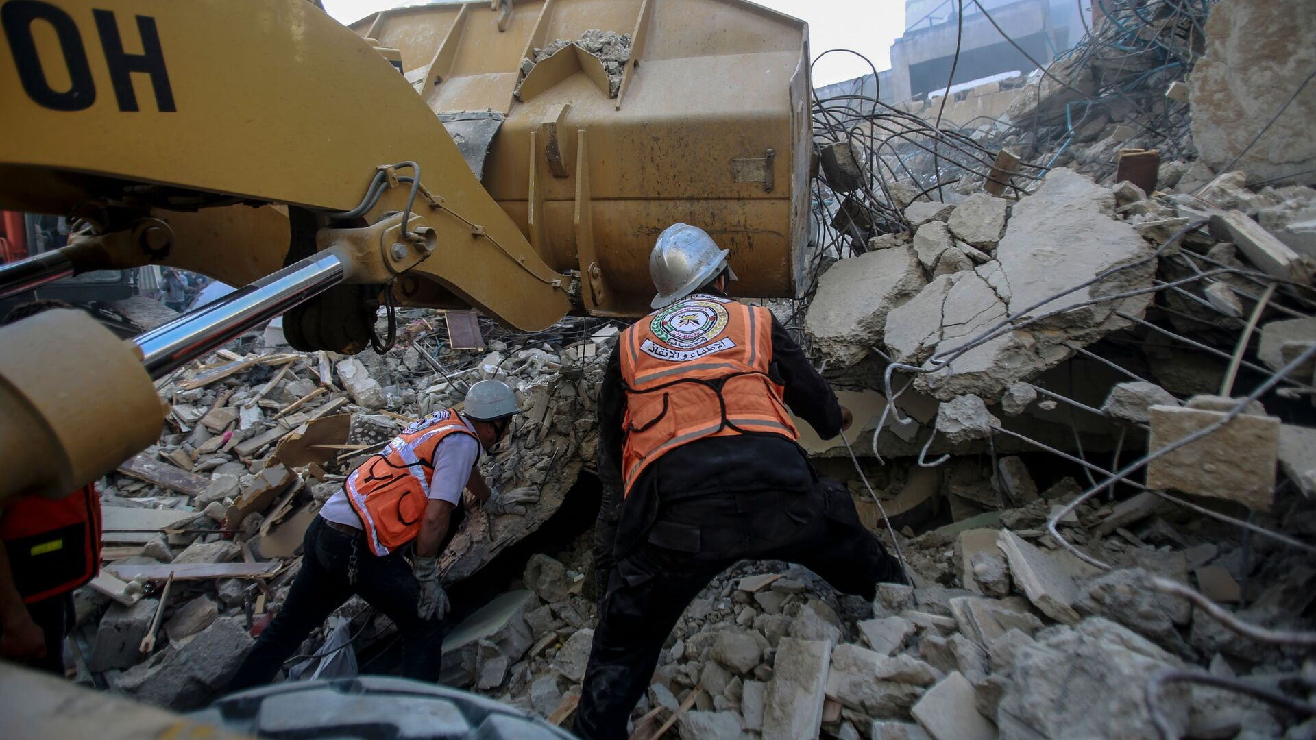 Le distruzioni a Gaza dopo i raid israeliani - Sputnik Italia, 1920, 21.05.2021