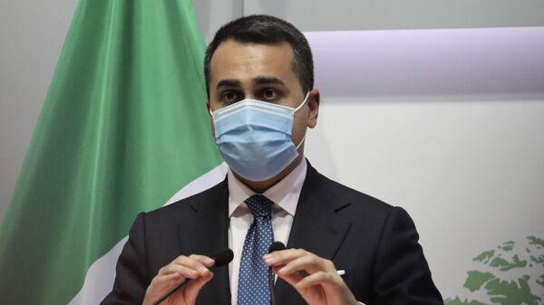 Luigi Di Maio ministro degli affari esteri e della cooperazione internazionale - Sputnik Italia