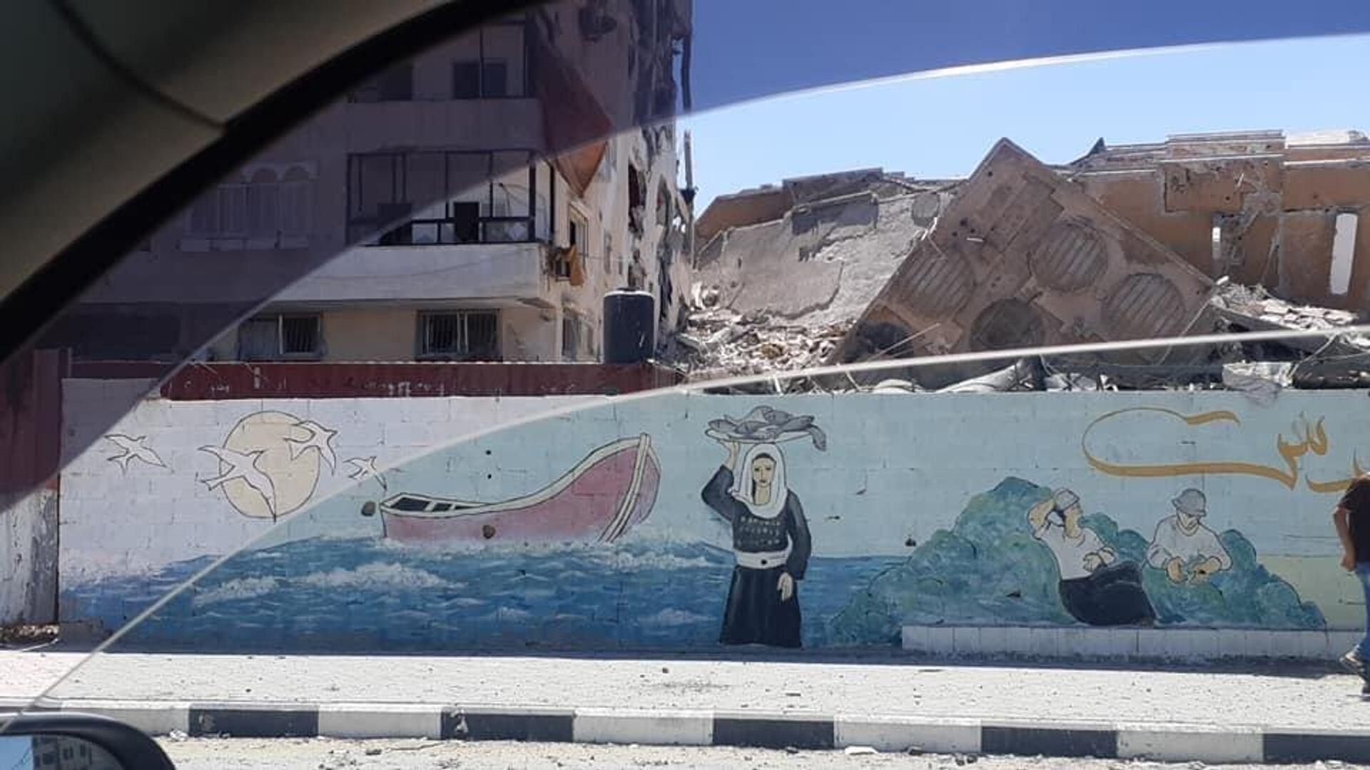 Una situazione drammatica a Gaza dopo una nuova escalation di violenza tra israeliani e palestinesi - Sputnik Italia, 1920, 21.05.2021
