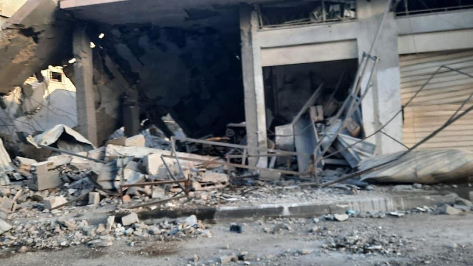 Una situazione drammatica a Gaza dopo una nuova escalation di violenza tra israeliani e palestinesi - Sputnik Italia, 1920, 13.09.2021