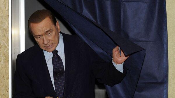 Премьер-министр Италии Сильвио Берлускони, 2011 год - Sputnik Italia