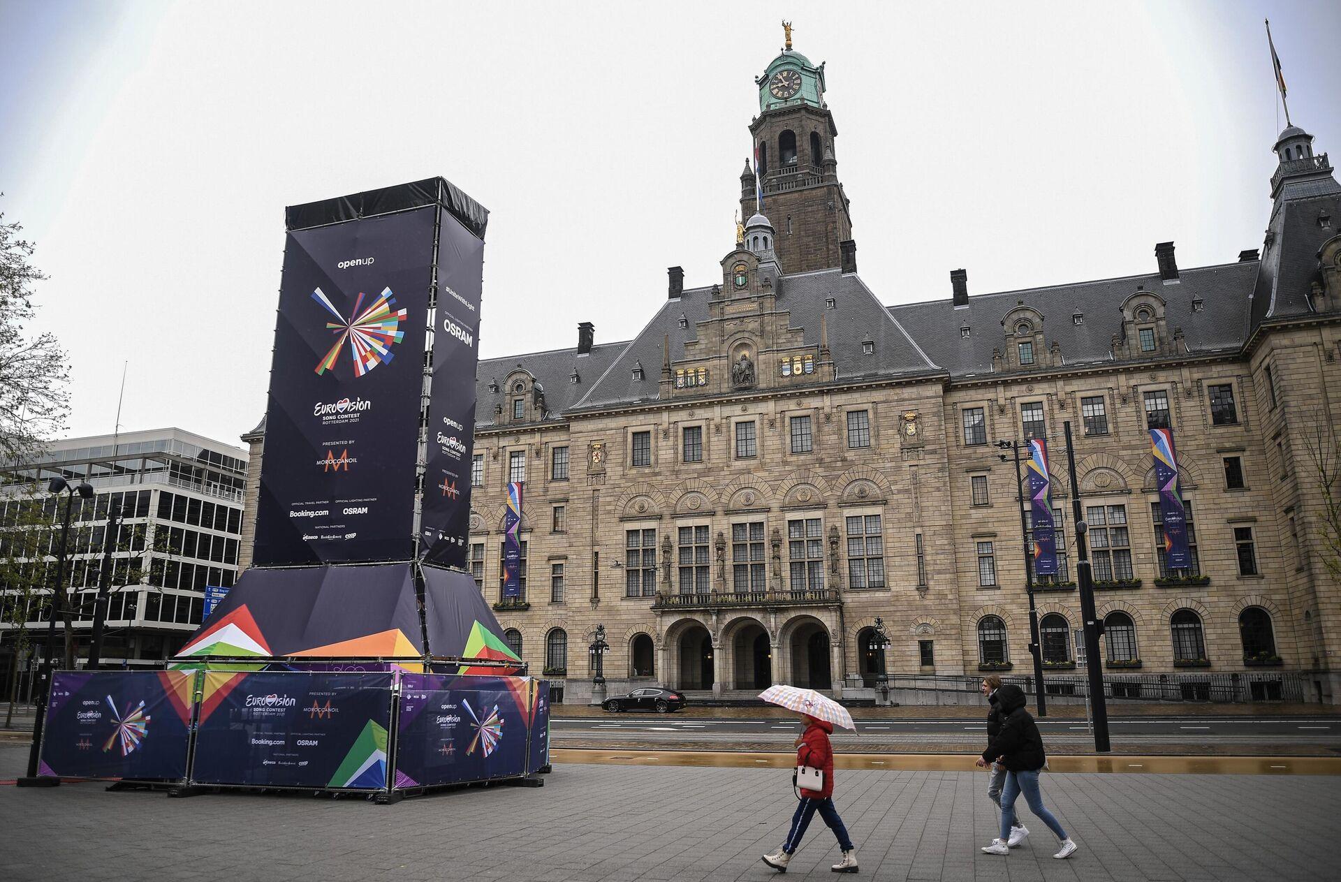 Rotterdam ospita l'edizione 2021 dell'Eurovisione - Sputnik Italia, 1920, 20.05.2021