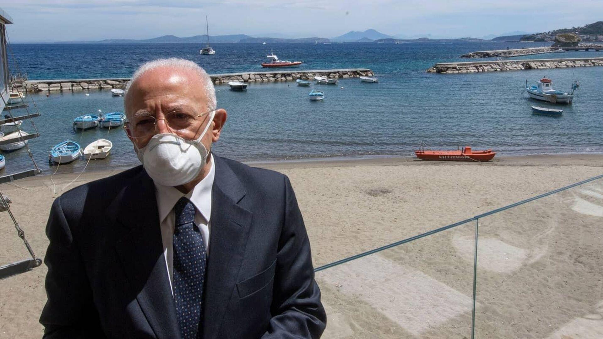 Vincenzo De Luca - Sputnik Italia, 1920, 27.08.2021