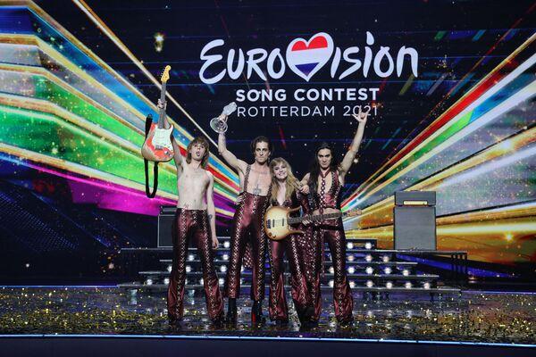 Eurovision 2021: i Maneskin trionfano - Sputnik Italia