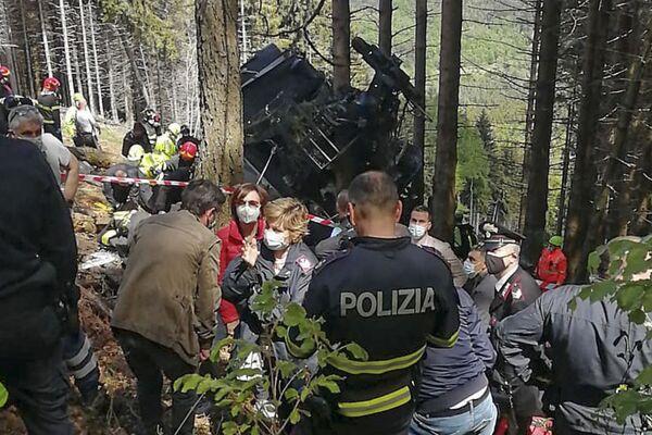 Piemonte, precipita cabina della funivia Stresa-Mottarone, 14 vittime - Sputnik Italia