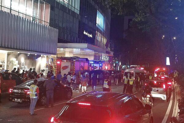 """""""Stiamo ancora indagando sull'incidente ma sospettiamo che forse ci sia stato un problema di comunicazione dal centro di controllo delle operazioni dei treni"""", ha detto il capo della polizia locale Mohamad Zainal Abdullah. - Sputnik Italia"""