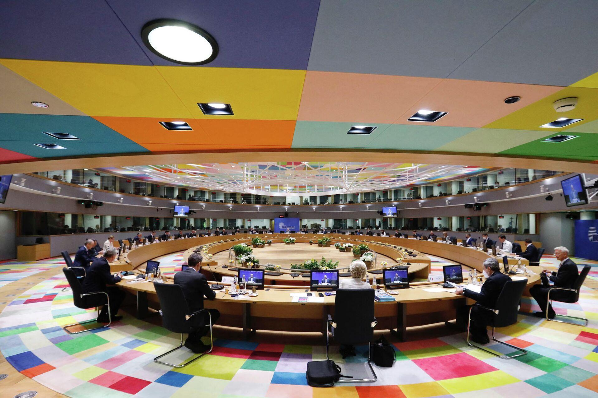La seduta del Consiglio Europeo del 25 maggio - Sputnik Italia, 1920, 25.05.2021
