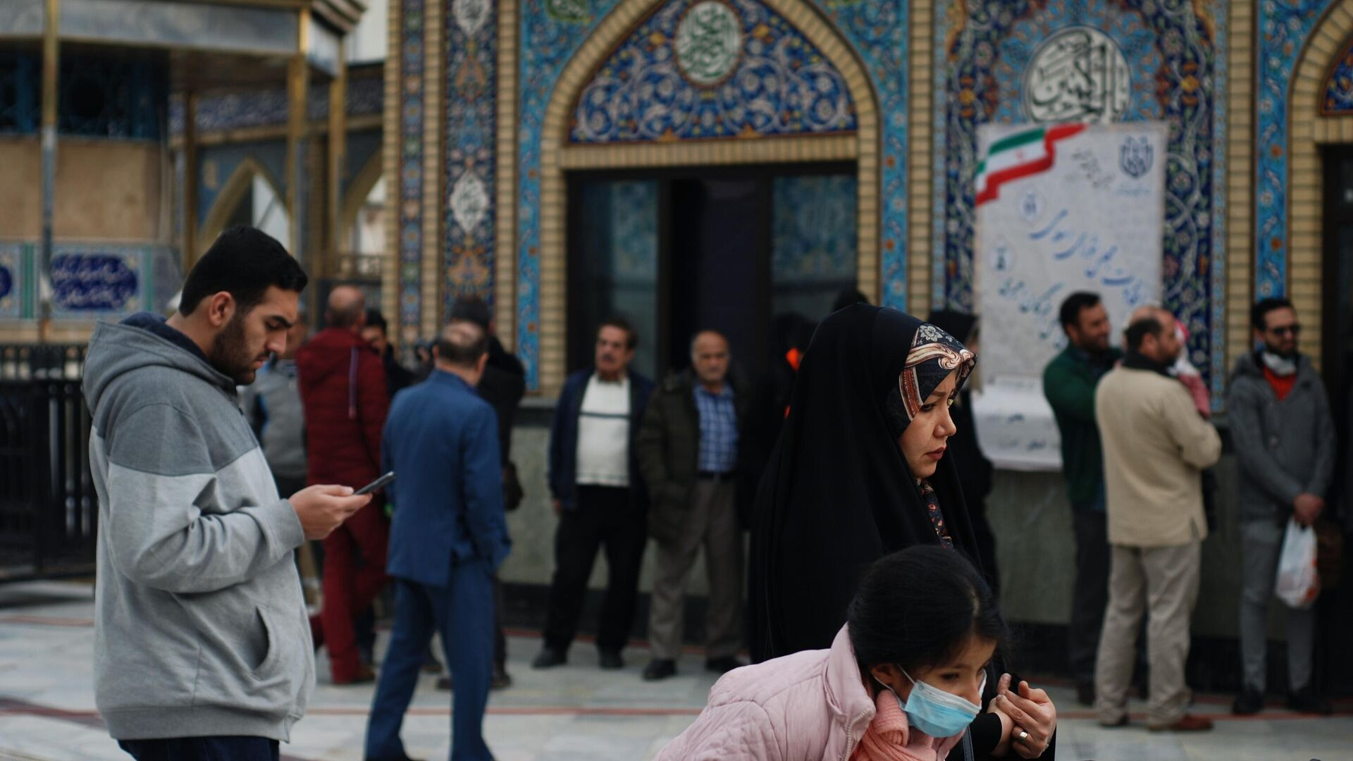 Code ai seggi delle elezioni parlamentari iraniane nel febbraio del 2020 - Sputnik Italia, 1920, 25.05.2021