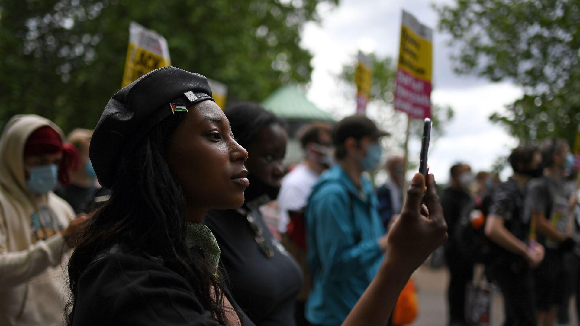 L'attivista del Black Lives Matter Sasha Johnson - Sputnik Italia, 1920, 29.05.2021
