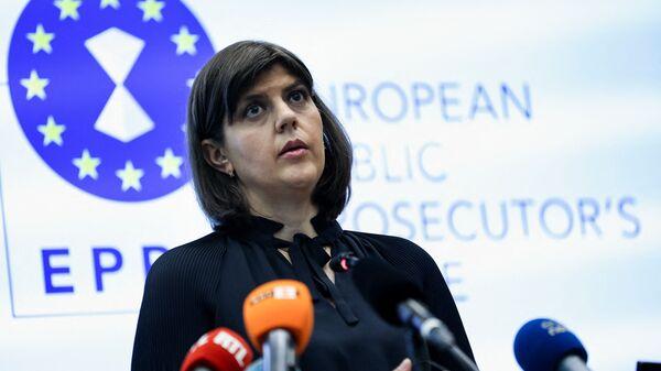Генпрокурор Евросоюза Лаура Кодруца Кёвеши - Sputnik Italia