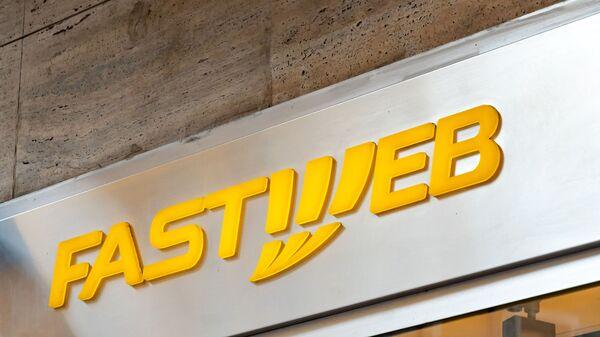 Логотип компании Fastweb - Sputnik Italia