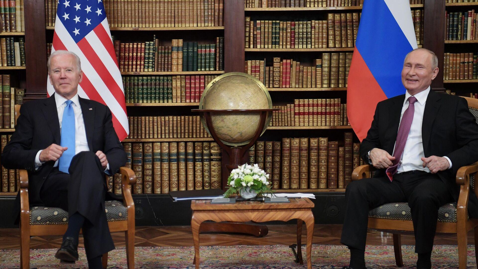 L'incontro bilaterale tra Putin e Biden a Ginevra - Sputnik Italia, 1920, 18.09.2021