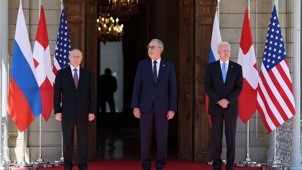 L'incontro tra Putin e Biden a Ginevra - Sputnik Italia