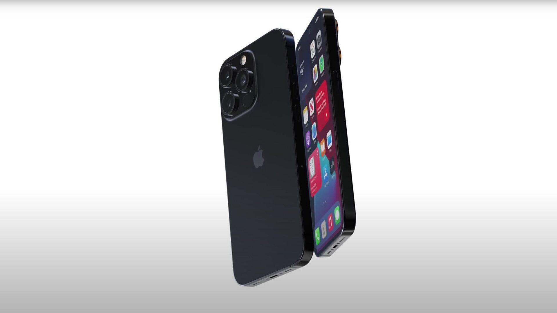 Render smartphone Apple iPhone 13 Pro - Sputnik Italia, 1920, 31.08.2021