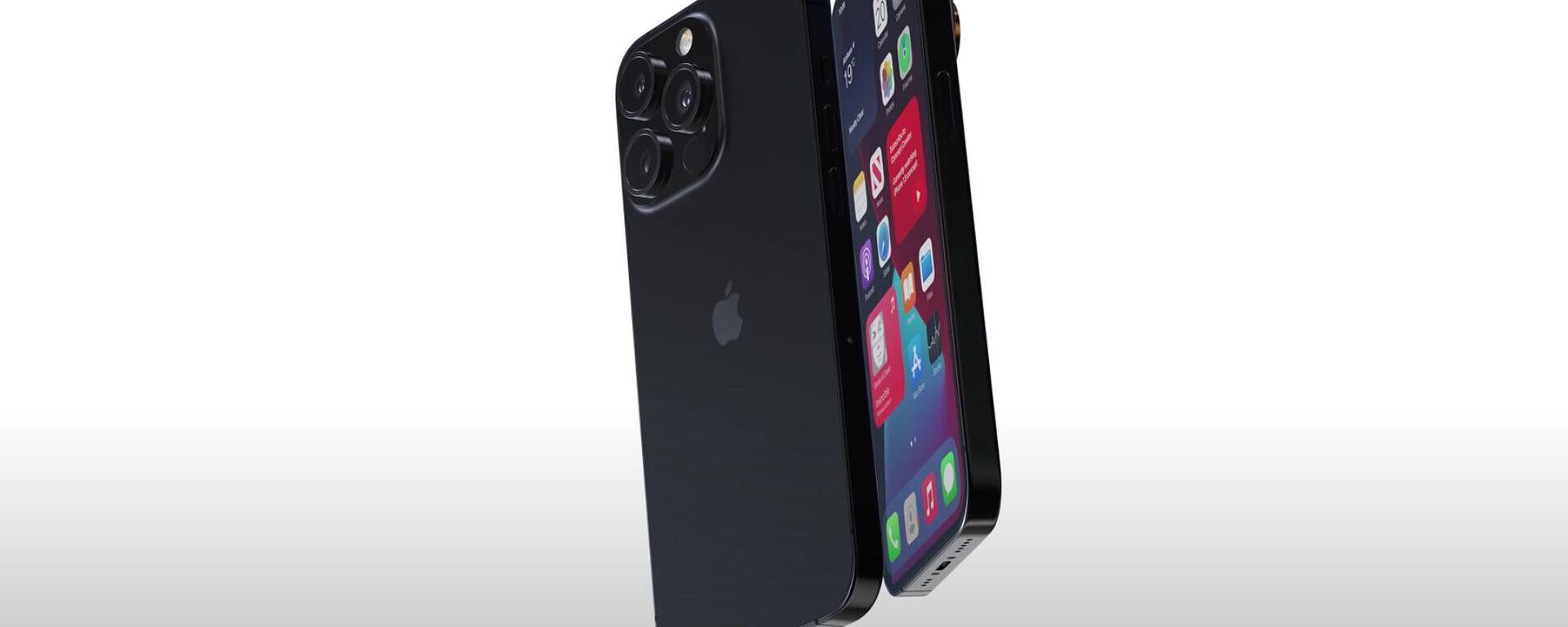 Render smartphone Apple iPhone 13 Pro - Sputnik Italia, 1920, 23.07.2021