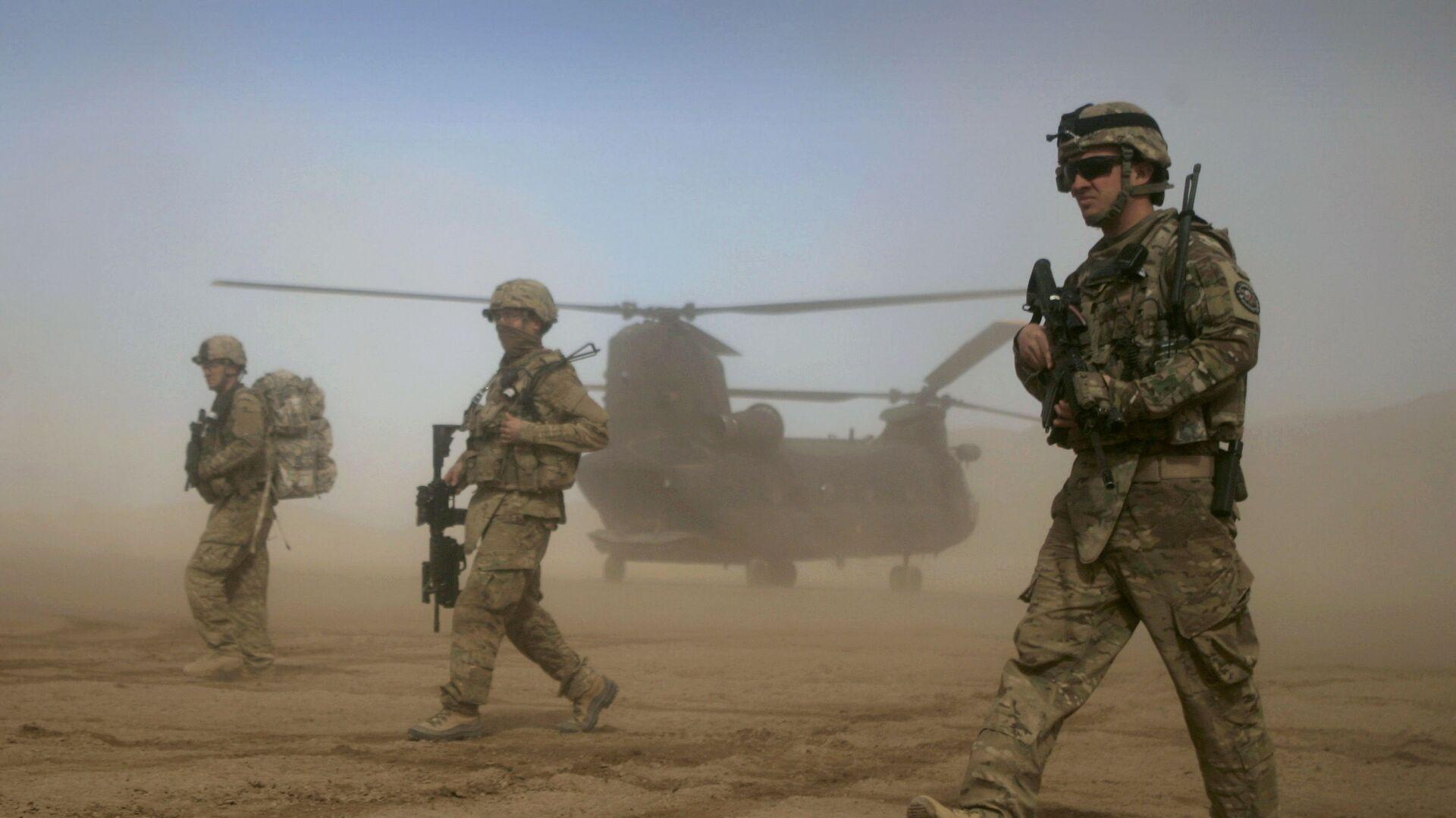 I militari delle truppe americane in Afghanistan  - Sputnik Italia, 1920, 13.07.2021