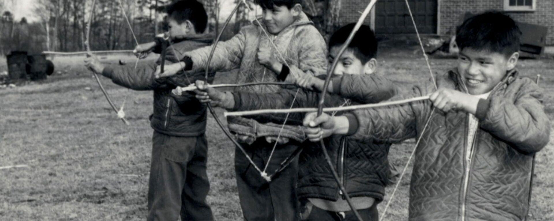 Alunni in un istituto residenziale canadese - Sputnik Italia, 1920, 27.06.2021