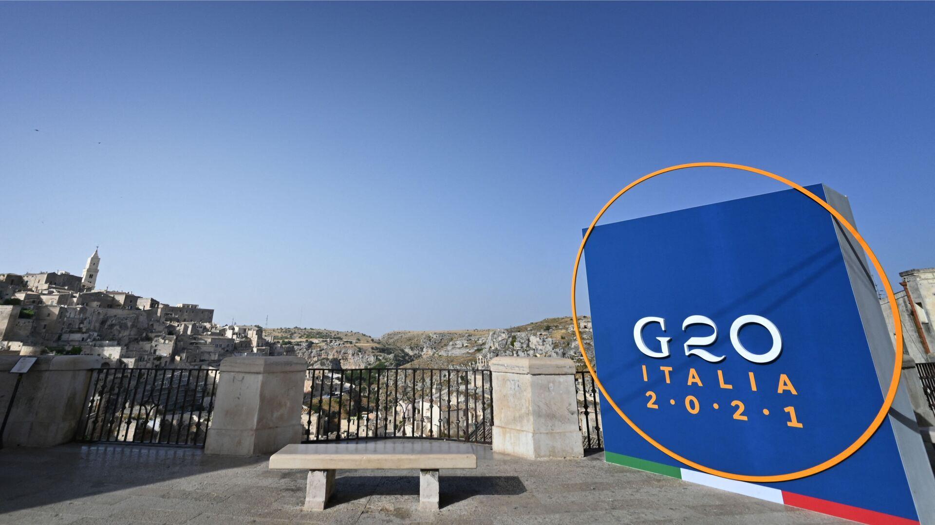 G20, a Matera la riunione dei ministri degli Affari esteri e dello Sviluppo  - Sputnik Italia, 1920, 01.07.2021
