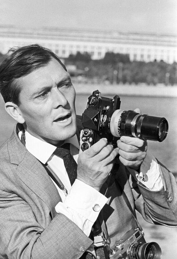 Il fotoreporter britannico William Lawlis. 1967.  - Sputnik Italia