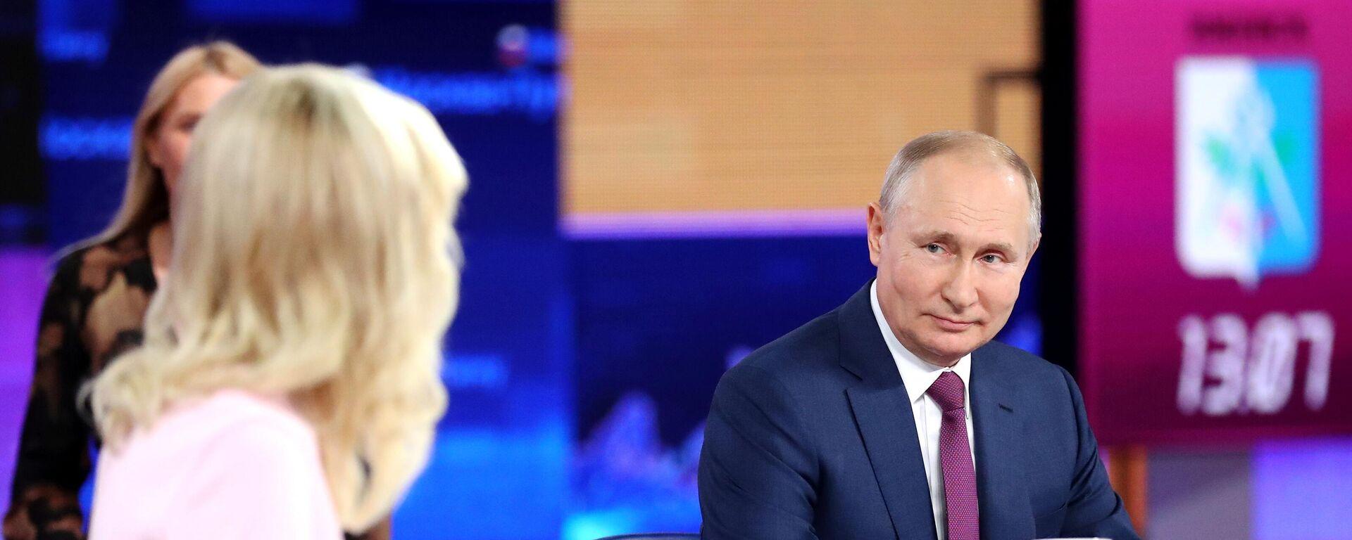 La linea diretta con Vladimir Putin - Sputnik Italia, 1920, 30.06.2021