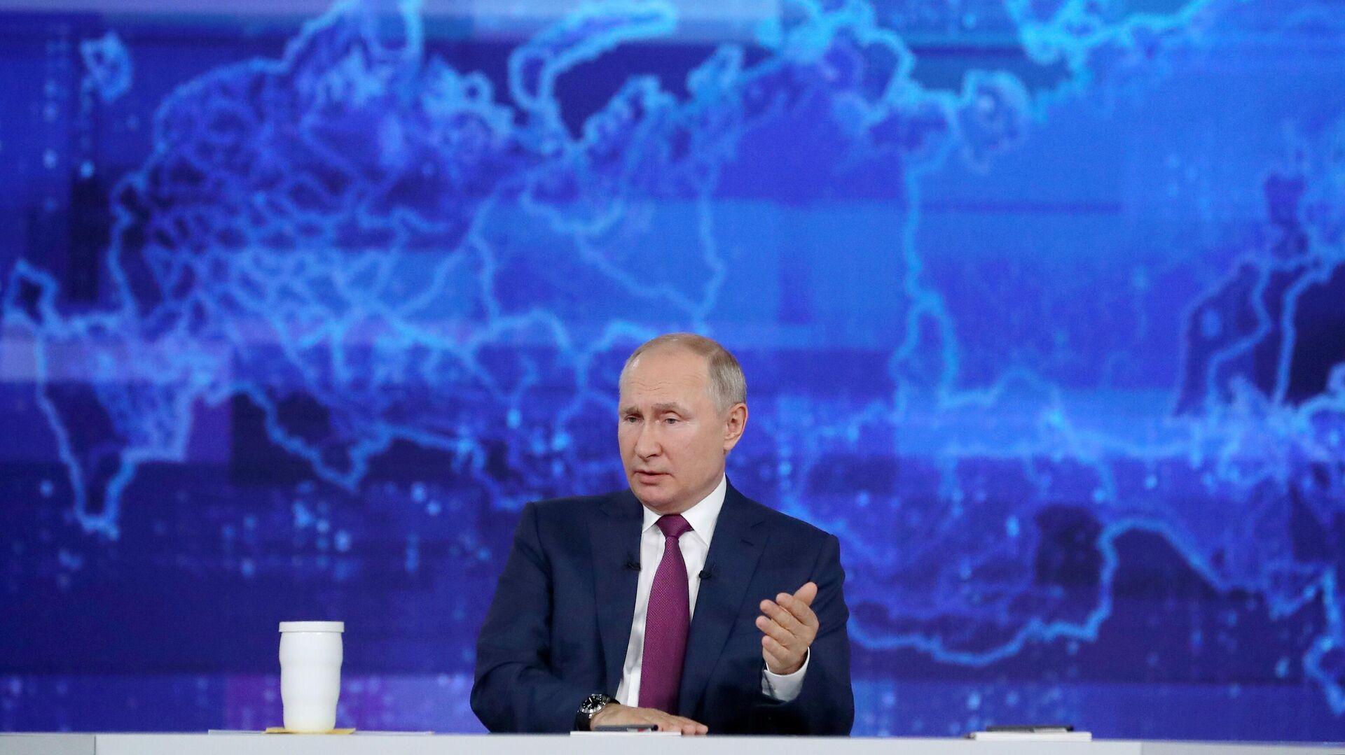 La linea diretta con Vladimir Putin - Sputnik Italia, 1920, 23.08.2021