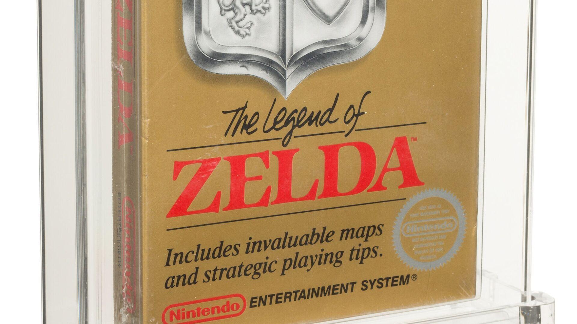 The Legend of Zelda, rara copia per NES del 1987 - Sputnik Italia, 1920, 11.07.2021