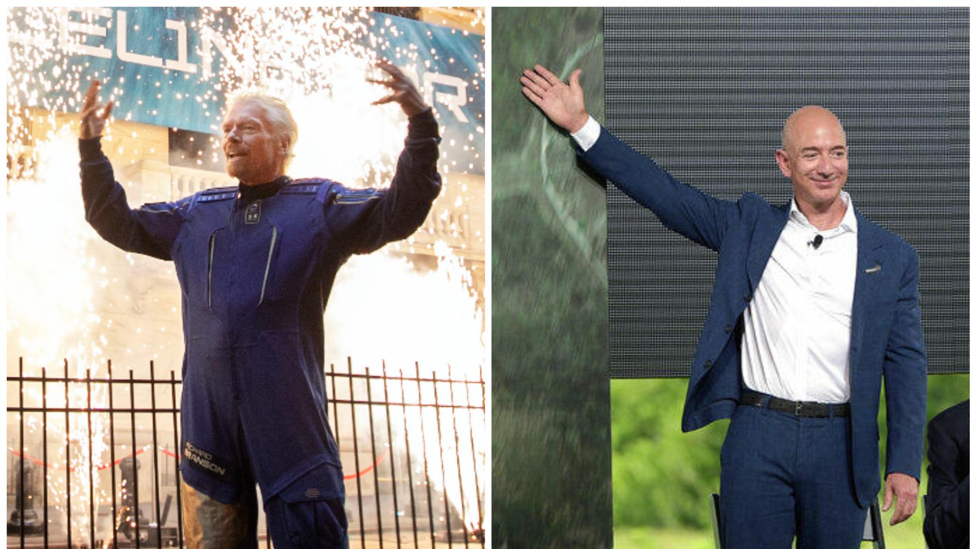 Bezos vs Branson - Sputnik Italia, 1920, 10.07.2021