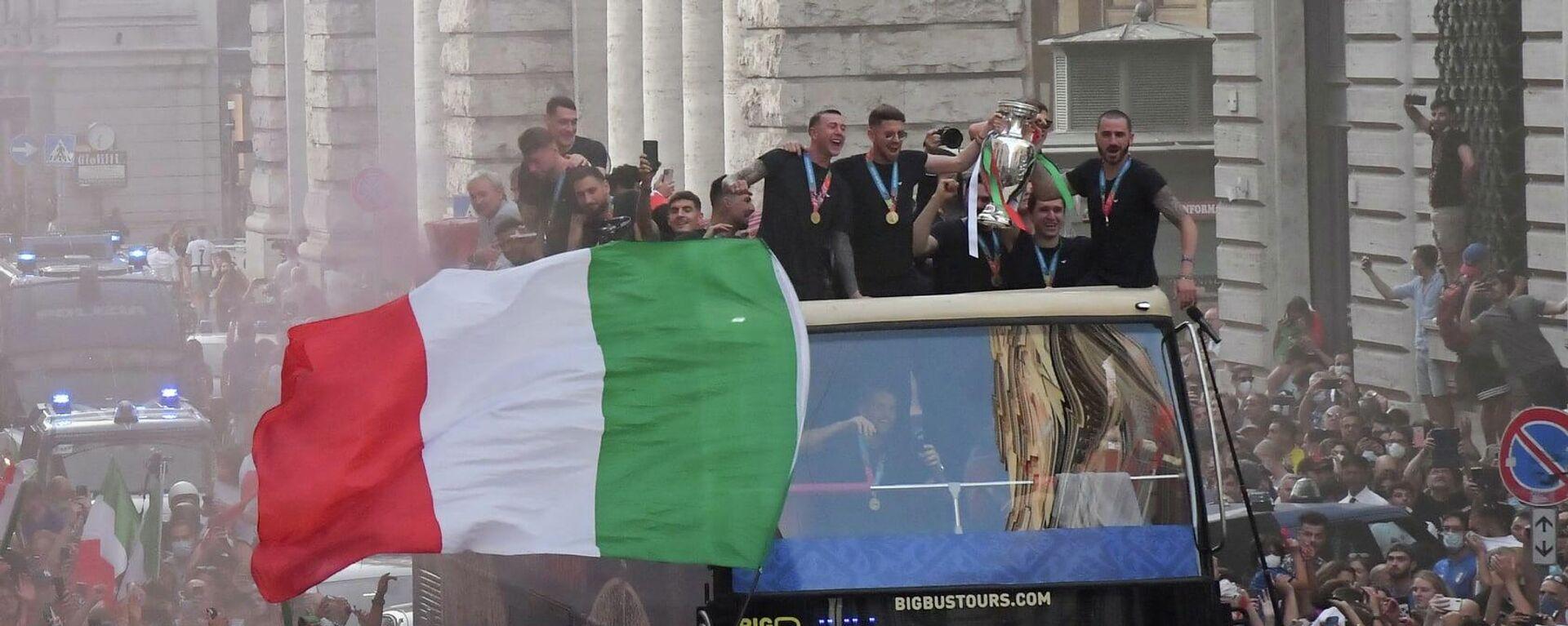 Italia Campione d'Europa - Sputnik Italia, 1920, 14.07.2021