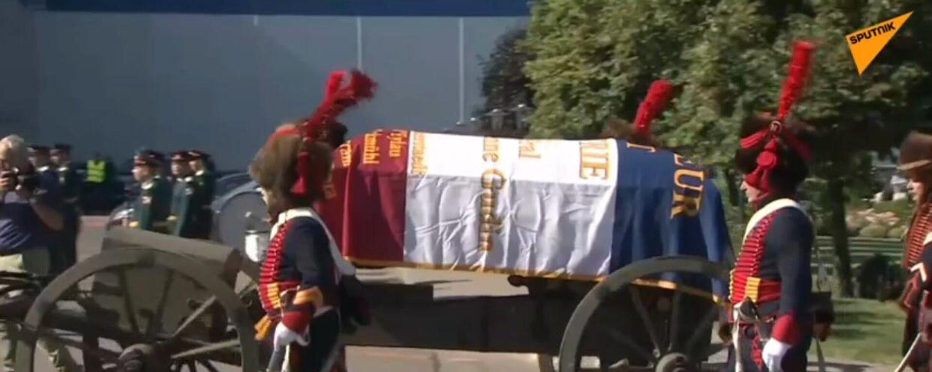 La salma del generale delle guerre napoleoniche Gudin arriva in Francia - Sputnik Italia, 1920, 14.07.2021