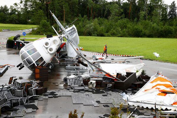 Almeno 33 persone risultano vittime delle alluvioni, mentre altre 70 sono disperse. - Sputnik Italia
