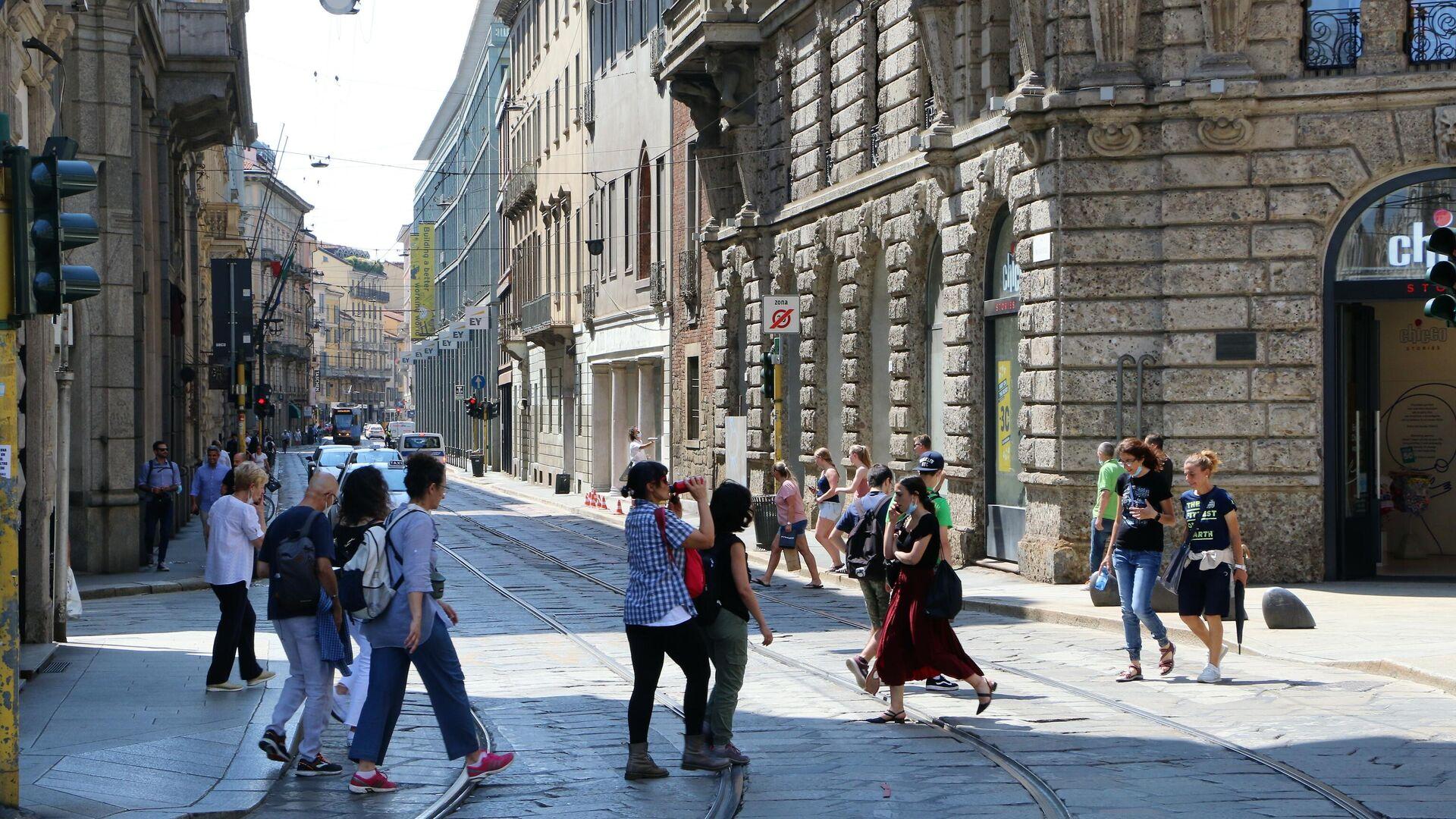 Le persone vanno al lavoro - Sputnik Italia, 1920, 19.07.2021