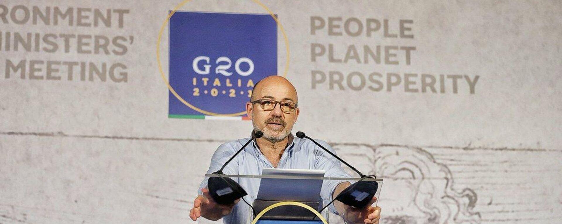 Roberto Cingolani, ministro della Transizione ecologica - Sputnik Italia, 1920, 23.07.2021
