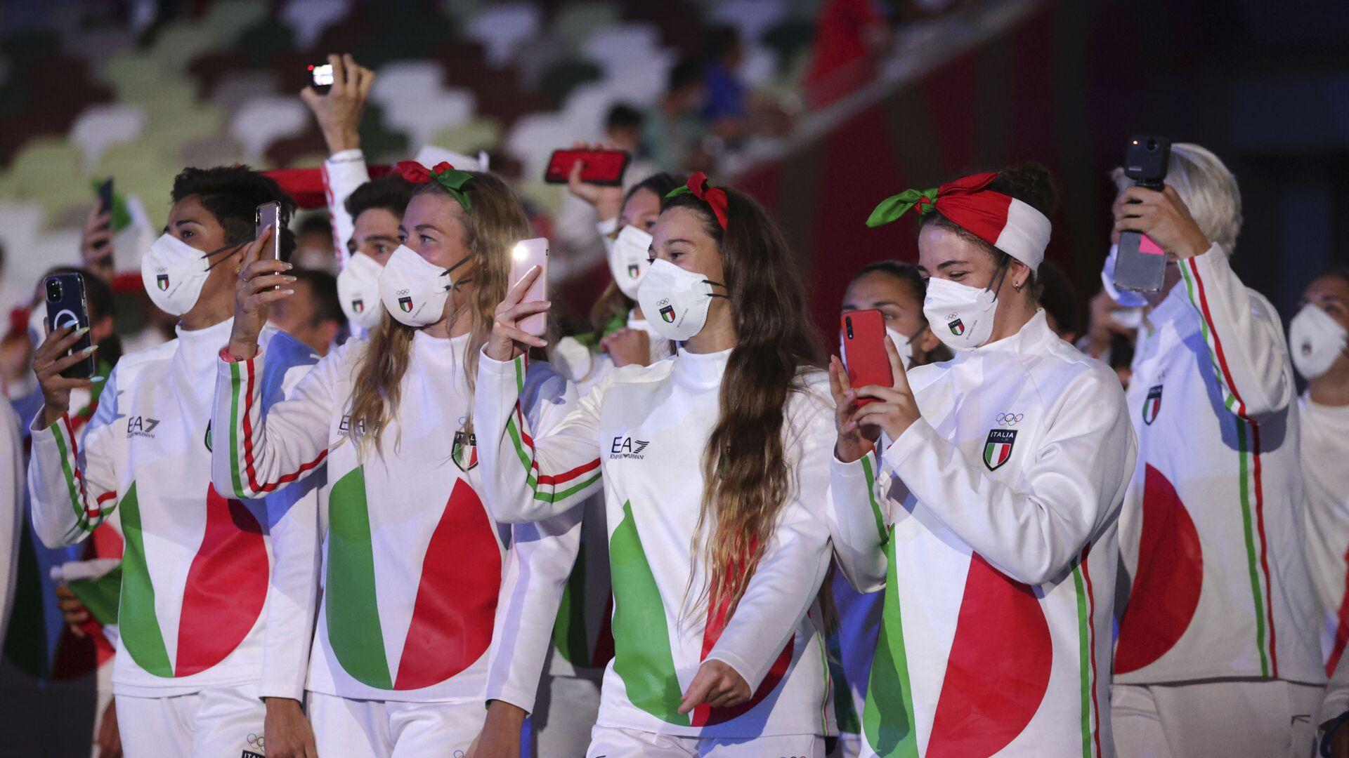 Tokyo 2020, la nazionale italiana - Sputnik Italia, 1920, 04.08.2021