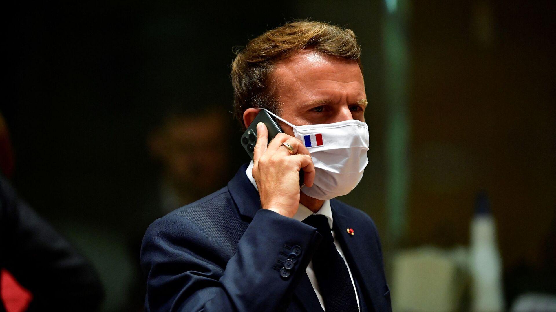 Emmanuel Macron - Sputnik Italia, 1920, 09.08.2021
