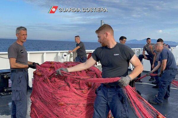 """Operazione della Guardia Costiera """"NO DRIFTNETS - Sputnik Italia"""
