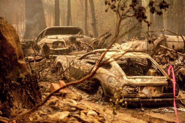 Le conseguenze degli incendi in California, Usa. - Sputnik Italia