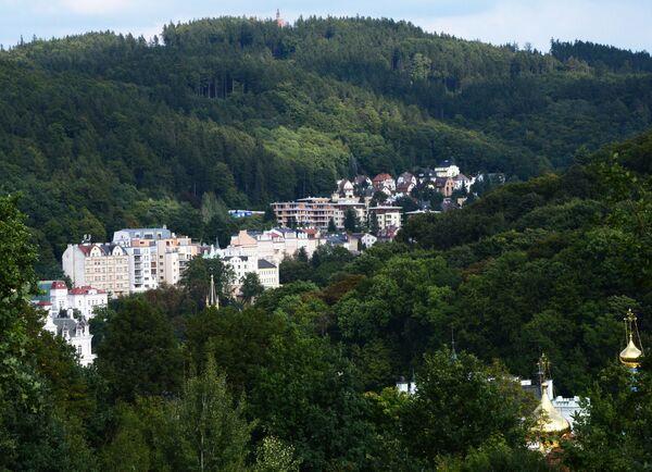 La città di Karlovy Vary. - Sputnik Italia