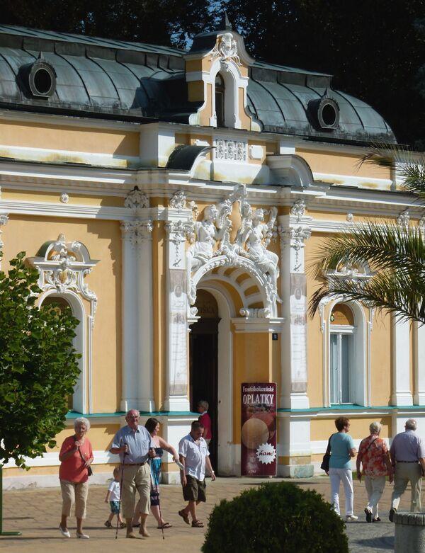 Un centro termale nella città di Františkovy Lázně. - Sputnik Italia