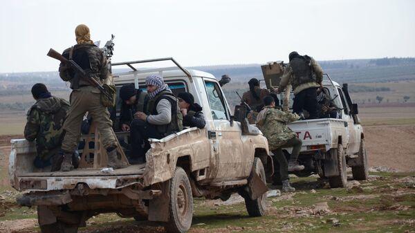 Militanti dell'Esercito siriano libero - Sputnik Italia