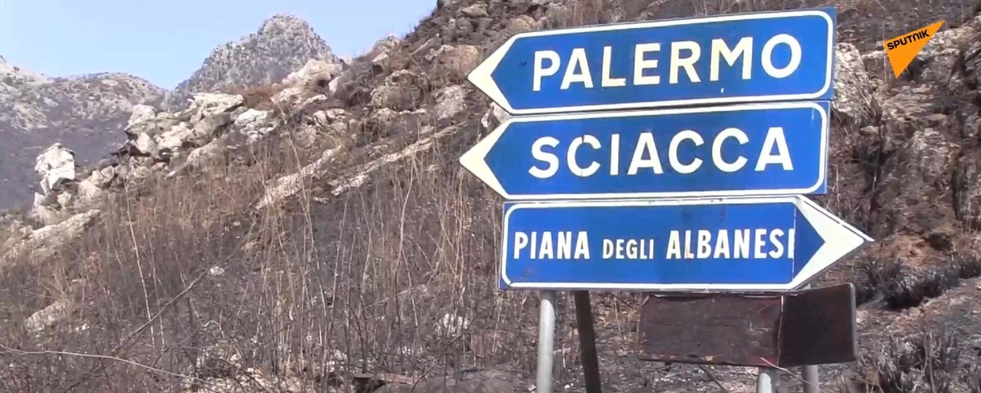 Sicilia: dietro all'emergenza incendi si intravede la mano della mafia - Sputnik Italia, 1920, 04.08.2021