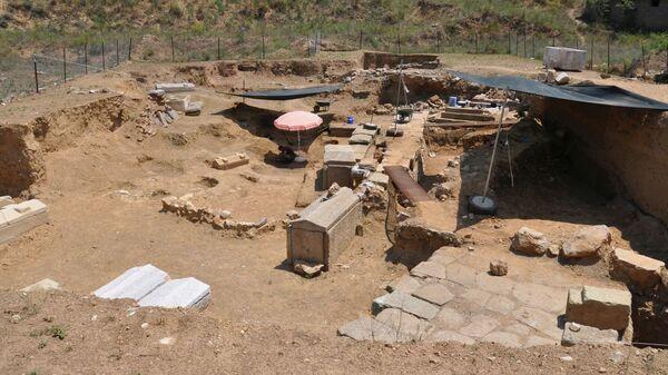 Раскопки в античном городе Парион в Турции  - Sputnik Italia
