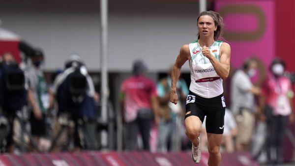 Белорусская легкоатлетка Кристина Тимановская на ОИ в Токио - Sputnik Italia